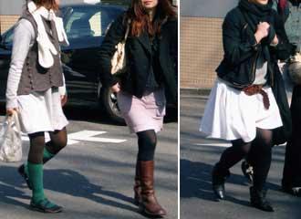 Японская мода - стильные юбки