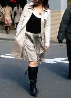 Мода Японии  - юбки в разгаре марта